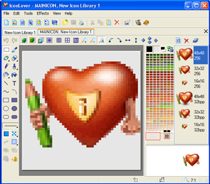 Windows Cursor and Icon Editor
