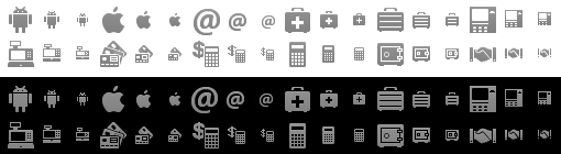 Android Status Bar Icons