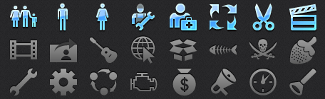 Mobile Tab Bar Icons